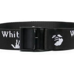 Off-White logo-print Industrial belt